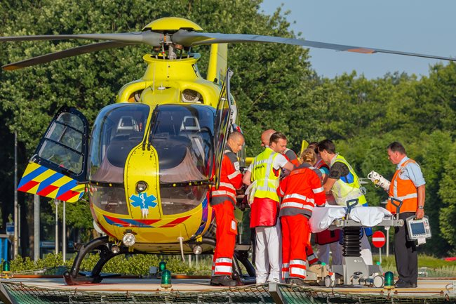 Traumahelikopter-in-actie